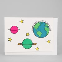 Urban Outfitters - All Up In My Space Card