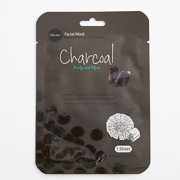 Charcoal Sheet Mask By Celavi