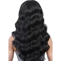 """Queenlike Hair Products 1 Bundle Thick Human Hair Bundles 8""""-28"""" Natural Color Non Remy Hair Weave Bundles Brazilian Body Wave"""