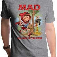Mad Magazine Little Alfie Red T-Shirt