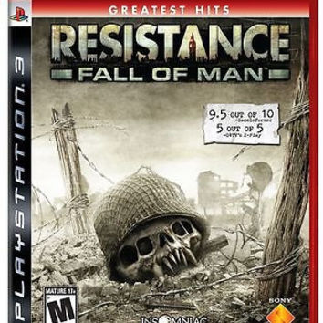 Resistance: Fall of Man [greatest hits]  (Sony Playstation 3, 2006)