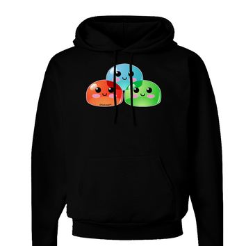 Cute RPG Slime - Trio Dark Hoodie Sweatshirt by TooLoud
