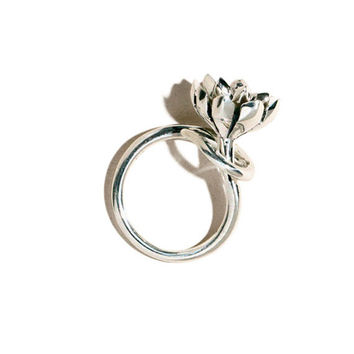 Pamela Love - Silver Small Anemone Ring | BONA DRAG