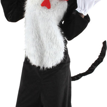 men's costume: dr. seuss cat in the hat | small/medium