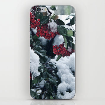 Winter and snow iPhone & iPod Skin by VanessaGF | Society6