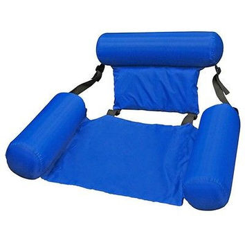Swim Float Water Chair Lounger Raft Sling Tube Inflatable