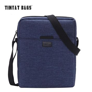 Men's Handbag Bag New Men's Shoulder Bag Canvas Crossbody Bag Light Waterproof Messenger Bag Casual