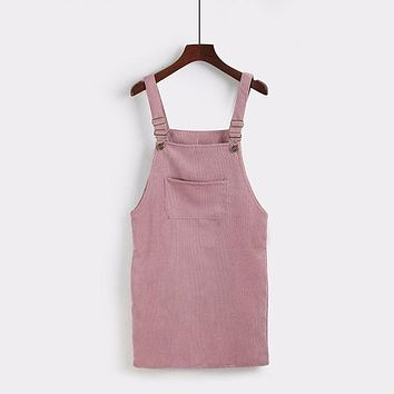 Pinsley Overalls Dress