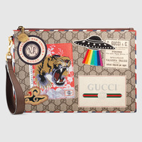 Gucci - Gucci Courrier GG Supreme pouch