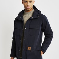 Carhartt WIP Mosley Jacket Navy - SALE at The Idle Man