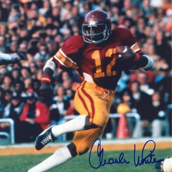 Autographed Charles White USC 8x10 Photo