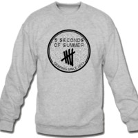 5 Seconds of Summer signature   Sweatshirt Crew Neck