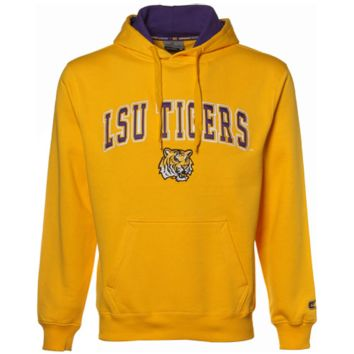 LSU Tigers Gold Automatic Hoodie Sweatshirt