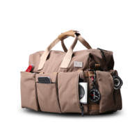 Large Canvas Messenger SLR/DSLR Camera Bag with Rain Cover for Digital Cameras, Laptops and other Accessories D16