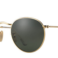 Ray-Ban RB3447 001 50-21 ROUND METAL Gold sunglasses | Germany Offizielle Online-Shop
