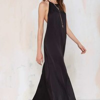 Slit Up Maxi Dress