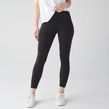 Lululemon Women Fashion Gym Yoga Exercise Fitness Leggings Sweatpants