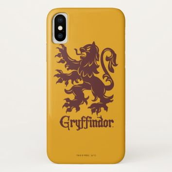 Harry Potter | Gryffindor Lion Graphic iPhone X Case