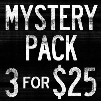 Mystery Pack - 3 Assorted Items For $25