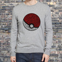 District Pokemon sweater Sweatshirt Crewneck Men or Women Unisex Size