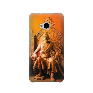 P1104 Shivaji Maharaj Comes Marathas Case For HTC ONE M7
