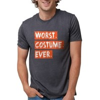 WORST COSTUME EVER Mens Tri-blend T-Shirt
