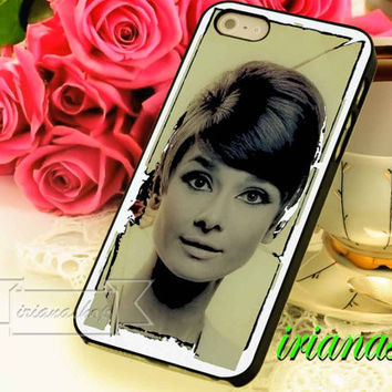 audrey hepburn for iphone4/4s, iphone 5, iphone 5s, iphone 5c and Samsung galaxy s3, Samsung galaxy s4 case
