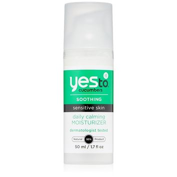 Yes To Moisturizer, Calming, Daily, Cucumber - 1.7 Fz