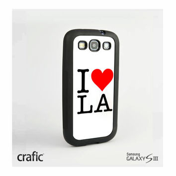 I Love LA Case Samsung i9300 Galaxy S3 III