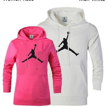 "New ""Jordan"" Women Men Lover Top Sweater Hoodie"