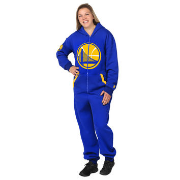 Golden State Warriors Adult One Piece KLEW Sport Suit Sizes XS-XL w/ Priority Shipping