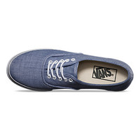 Vans Chambray Authentic Lo Pro (blue/true white)