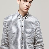 Rag & Bone - Button Down Oxford, Indigo