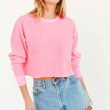 BDG Brittany Distressed Sweatshirt - Urban Outfitters