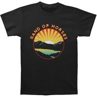 Band Of Horses Men's  Lakefront Slim Fit T-shirt Black