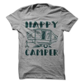Happy Camper Pop-Up Camper