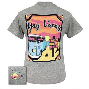 Bjaxx Lilly Paige Preppy Yay Vacay Beach T-Shirt