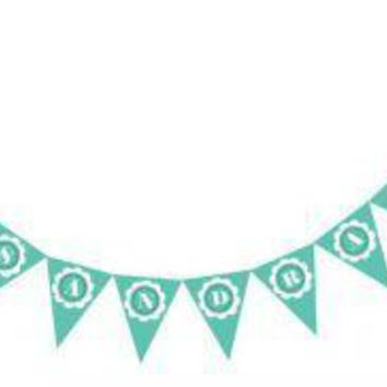 Bride & Co Pennant Banner