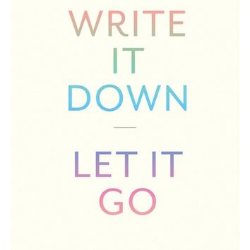 Write It Down, Let It Go: A Worry Relief Journal | Nordstrom