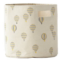 Hot Air Balloons Canvas Storage Bin
