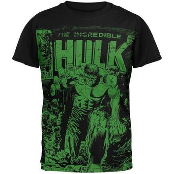 ONETOW Incredible Hulk - Monster Unleashed Subway T-Shirt