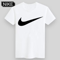 ADIDAS & NIKE United Men and Women Trendy Short Sleeve NIKE