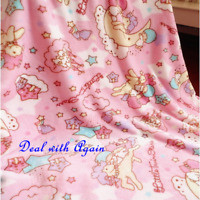 New Cute Little Twin Stars Soft Warm Flannel Blanket Bed Throw Bedding Plush Rug