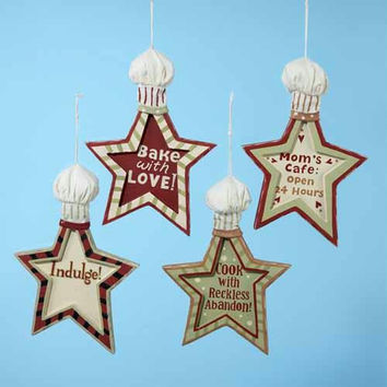 12 Christmas Ornaments - Kitchen Theme