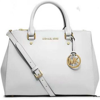 MICHAEL KORS Women Shopping Fashion Leather Satchel Shoulder Bag Crossbody G-LLBPFSH-1