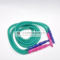 Top selling 1pcs 1.8M plastic Shisha plasric tube Hookah smoking pipe best price for Narguile chicha