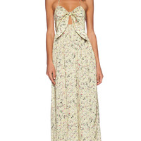 d.RA Atria Dress in Yellow Ditsy Floral