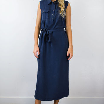 Workman Midi Dress