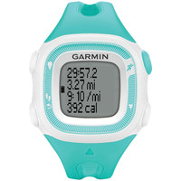 GARMIN 010-01241-21 Forerunner(R) 15 GPS-Enabled Running Watch (Small, Teal/White)