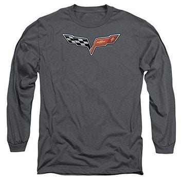 Corvette The Vette Medallion Long Sleeve Shirt